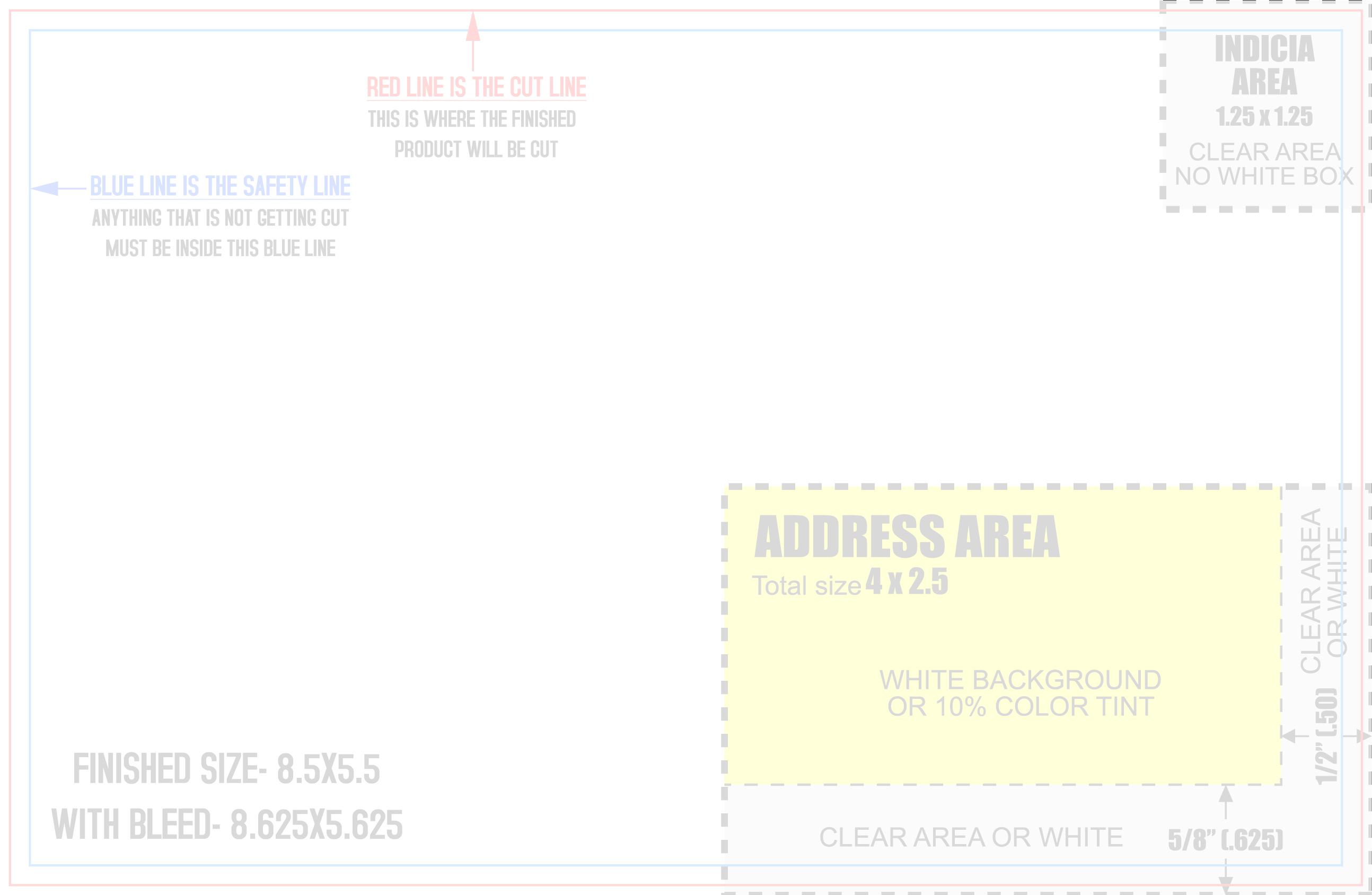 4 over certified mailing templates. Black Bedroom Furniture Sets. Home Design Ideas