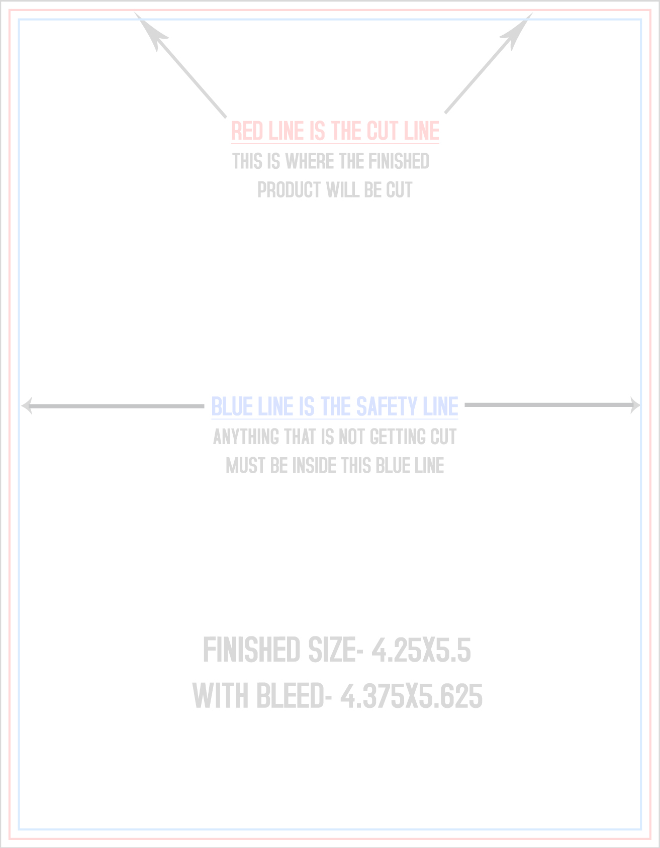4 Over Certified Postcard Templates - Vertical