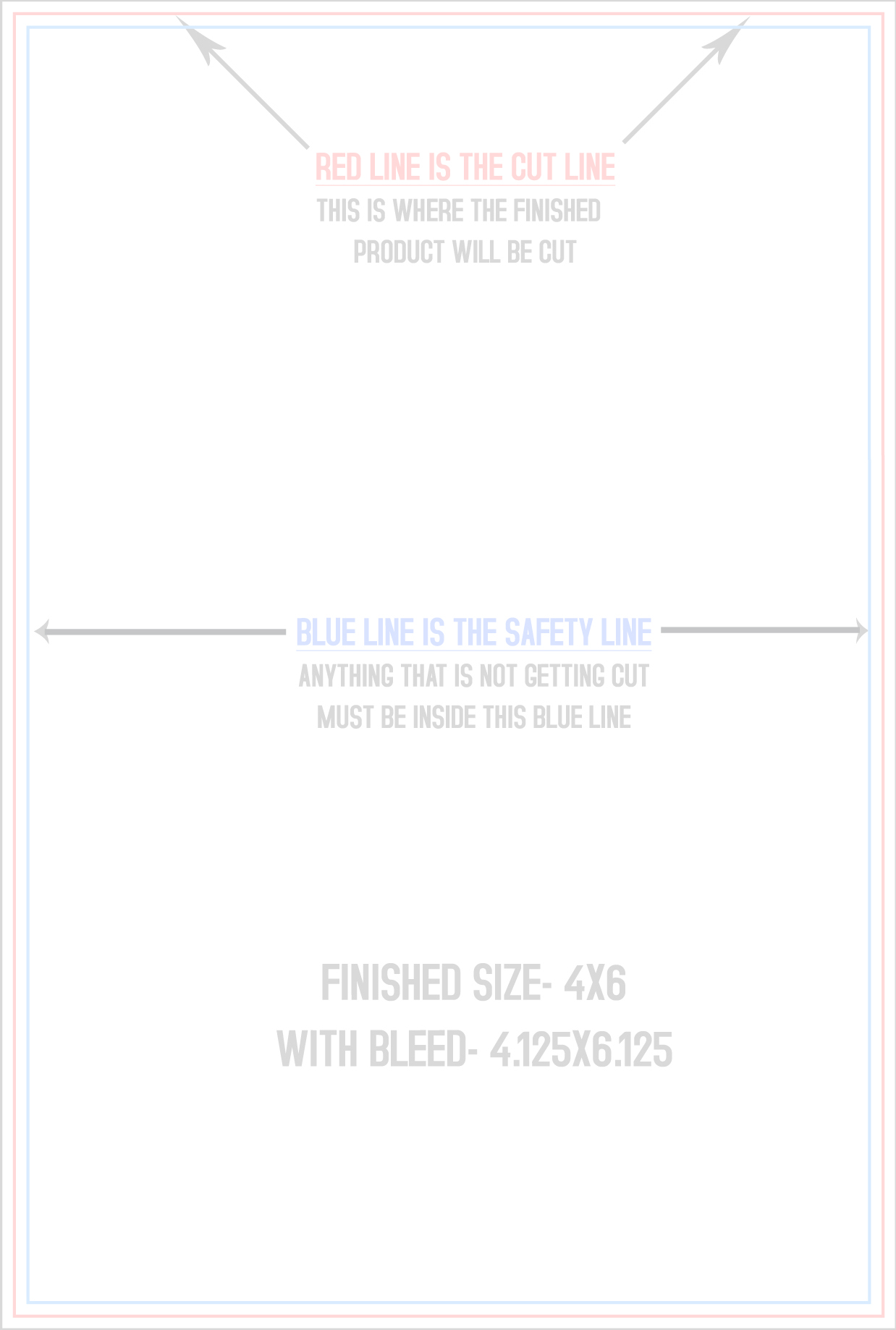 4 over certified postcard templates vertical