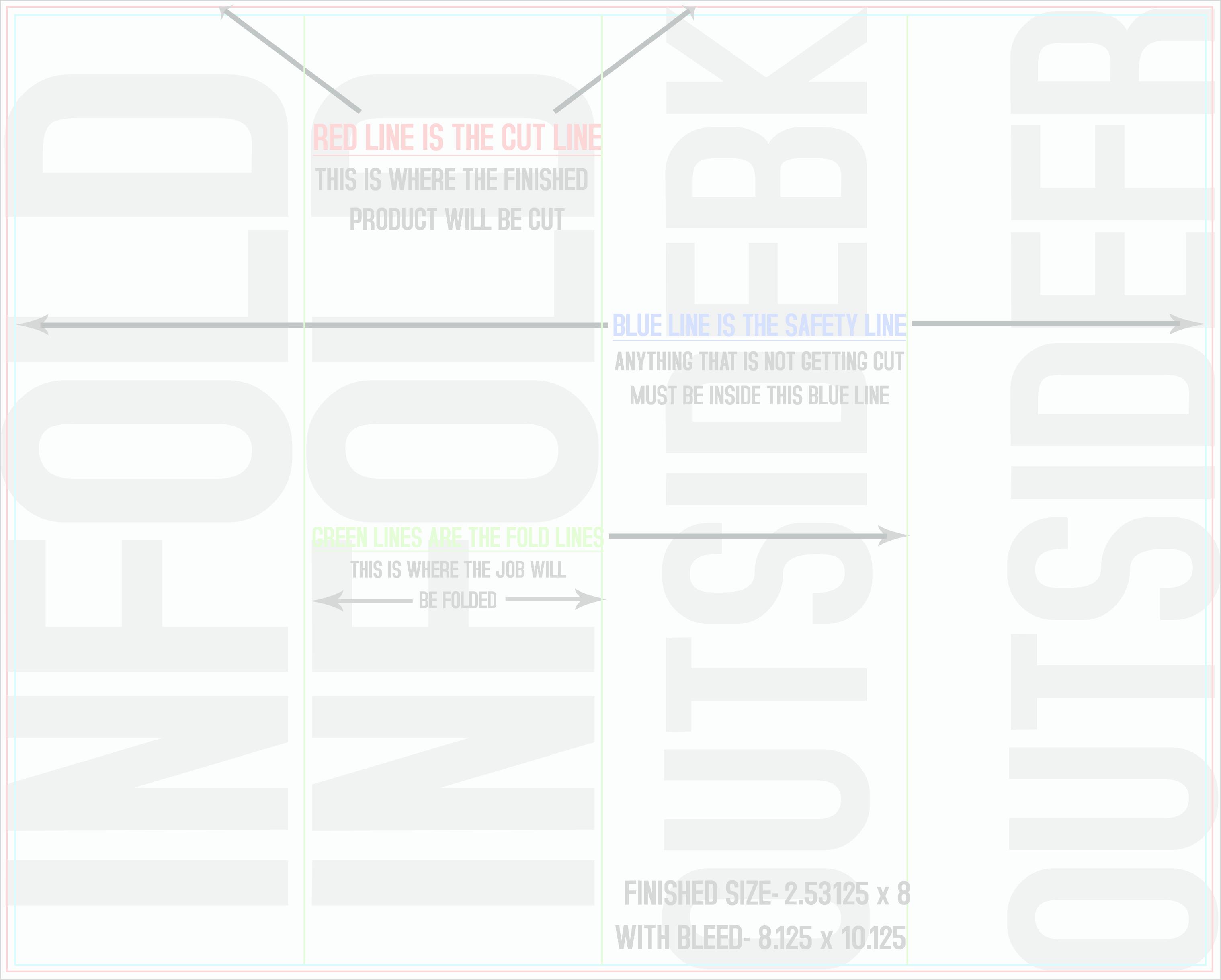 Hunter Foss Design & Printing Templates